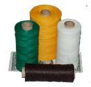Waxed Polyester-Linen Blend
