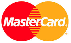 Pay with MasterCard. For your safety we do not keep any credit information on our site