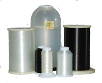 Monofilament thread canisters and spools
