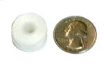Style A / Type 15 bobbin compared to U.S. quarter