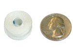 Style G Bobbin compared to U.S. quarter