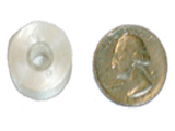 Style L bobbin compared to U.S. quarter
