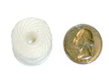 Style M bobbin compared to U.S. quarter