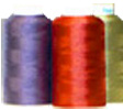 Tweed or two tone embroidery thread