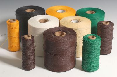 Waxed Polyester-Linen Thread - The Thread Exchange