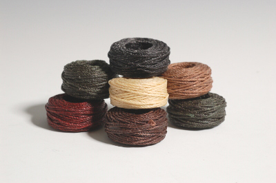 Waxed Thread Coils - Size 415 - The Thread Exchange